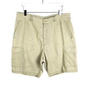 TOMMY BAHAMA Mens RELAX Cargo Shorts 38 Beige